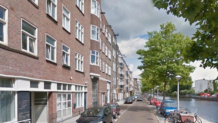 In een woning aan de Baarsjesweg werd een hennepkwekerij gevonden Beeld Google Streetview