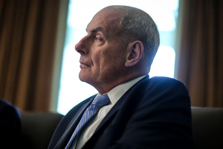 Stafchef van het Witte Huis John Kelly.