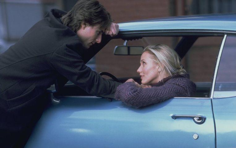 Tom Cruise en Cameron Diaz in Vanilla Sky (2001) Beeld Paramount