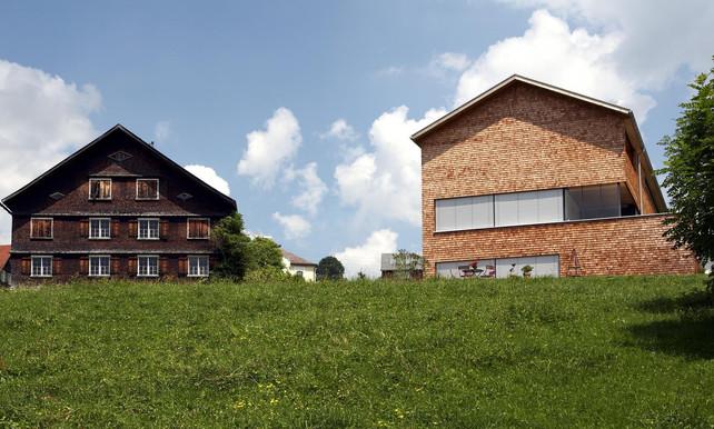 Bregenzerwald inspirerende bergwereld met moderne houtarchitectuur gesponsord de morgen - Moderne overwinning ...