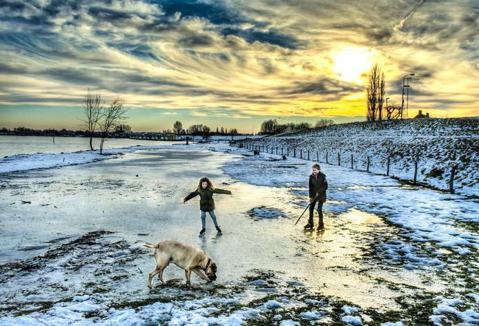 Kan er in Oost-Nederland al geschaatst worden op natuurijs? Laat het ons weten!