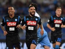 Ancelotti wint eerste competitieduel met Napoli