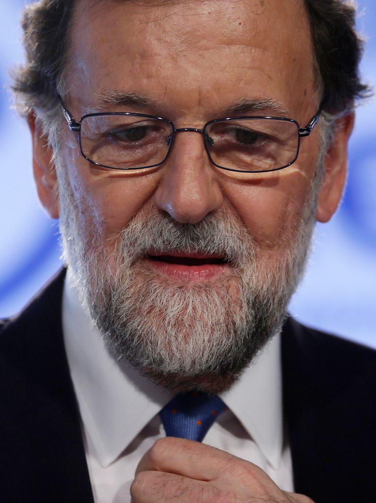 Mariano Rajoy, premier van Spanje Beeld AP