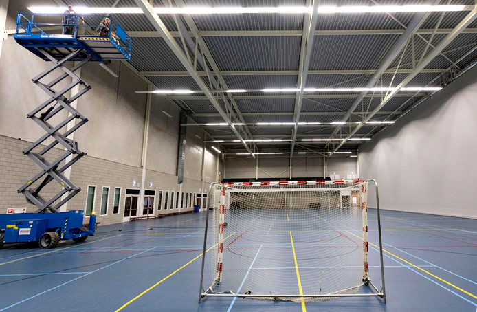 Sporthal op Suytkade in Helmond.