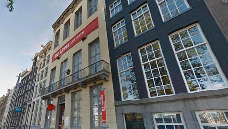 De Appel Arts Centre. Beeld Google Street View