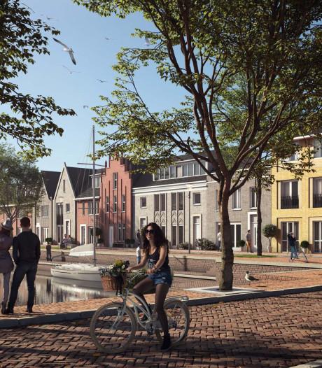 Geen gas natuurlijk in nieuwe woningen in Harderwijk maar wel waterzakken en gratis fietsen