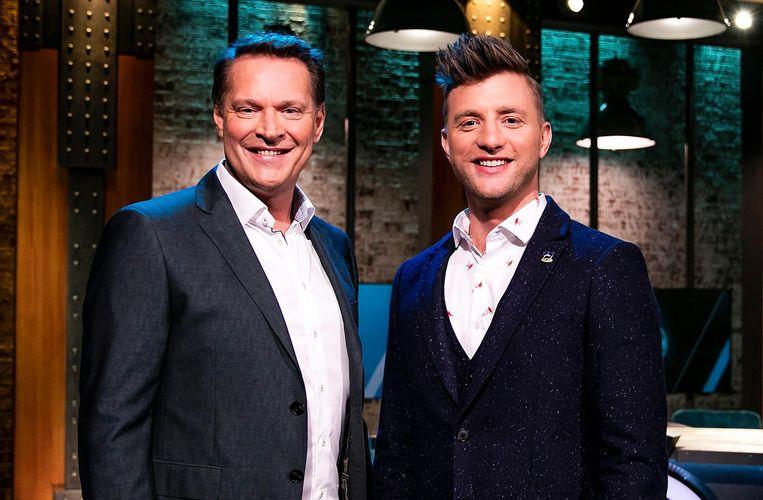 Albert Verlinde en Jan Versteegh, presentatoren van 6 Inside Beeld ANP