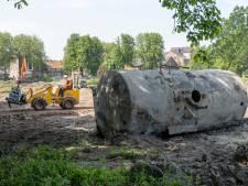 Vreemde vondst bij graafwerk voor nieuw Molenwaterpark in Middelburg