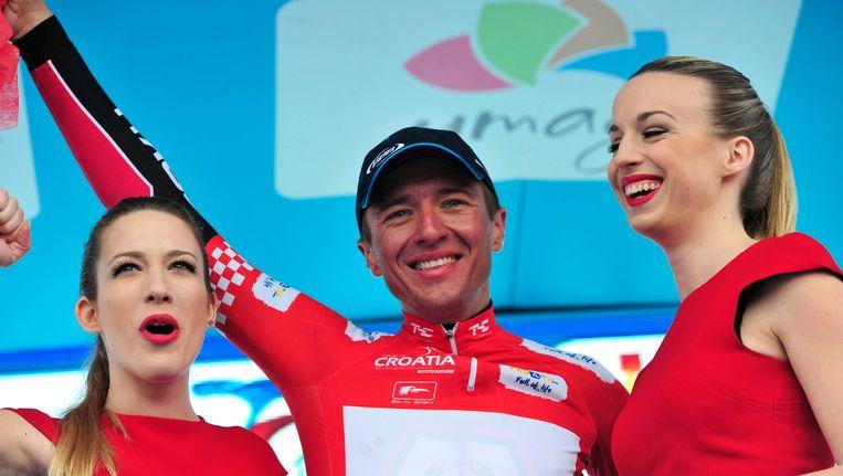 Kvasina aan het feest vorig jaar in de Ronde van Kroatië.
