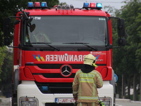 Brandweerpost Lede.