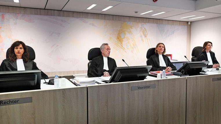 De rechtbank in het proces tegen Holleeder Beeld Guus Dubbelman / de Volkskrant