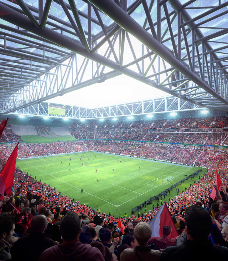 'Financiering nieuwe stadion van Feyenoord ligt op koers'