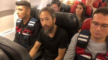 """Japanse journalist na 40 maanden gevangenschap in Syrië op weg naar huis: """"Moeite om Japans te praten"""""""