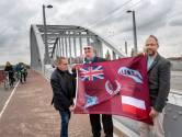 Herdenkingsvlag markeert Slag om Arnhem 75 jaar geleden