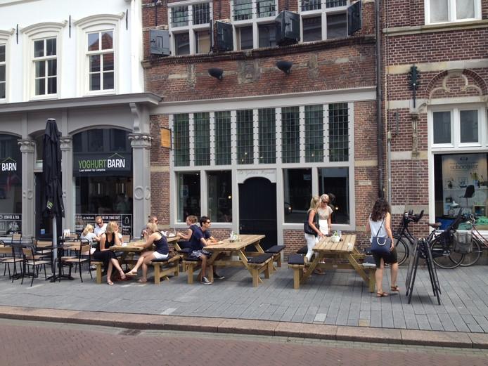 Het pand aan Orthenstraat 3.