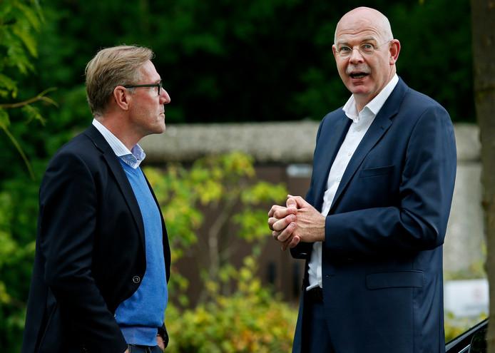 Toon Gerbrands (rechts) en Hans van Breukelen.