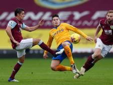 Opnieuw averij voor Everton in Premier League: remise tegen Burnley