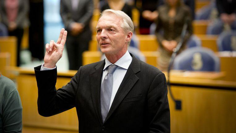 Marc Dullaert werd vorig jaar in de Tweede Kamer herbenoemd tot Kinderombudsman. Beeld anp