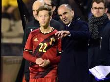 """Roberto Martinez sous le charme de Verschaeren: """"Un mix entre Hazard et Mertens"""""""