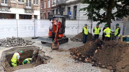 Graafwerken naar vermist paneel Lam Gods in Gent voorbij: niets gevonden
