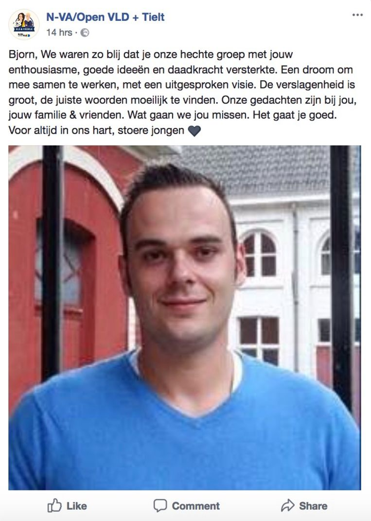 Slagerszoon Bjorn - moord Tielt