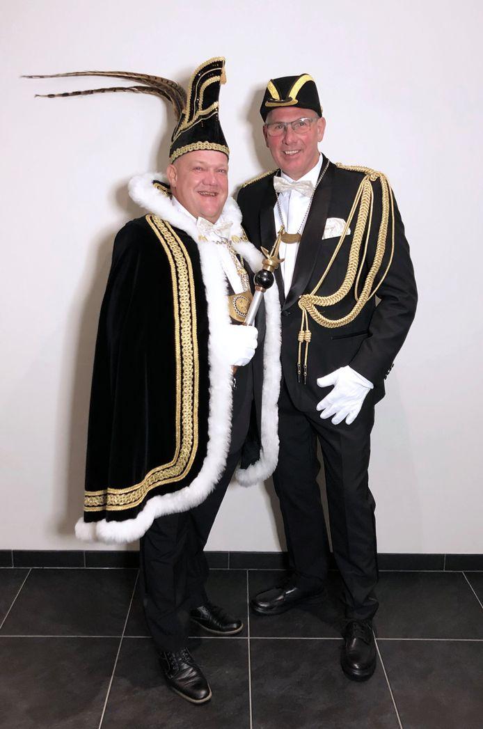 Prins Robert d'n Uurste en adjudant Jan