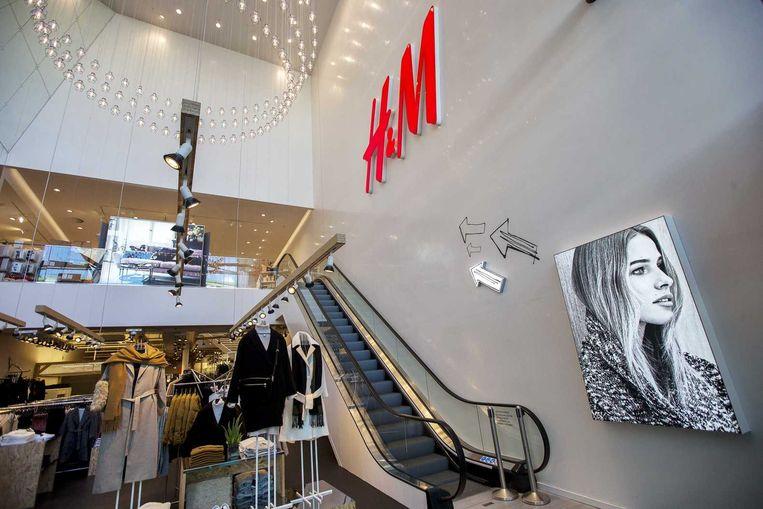 Interieur van een H&M in Rotterdam. Beeld anp