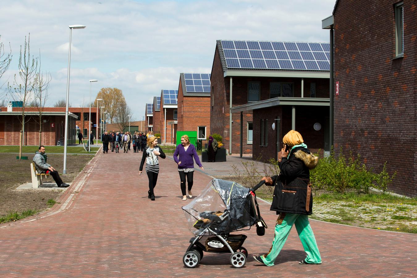 Het AZC Ter Apel opende in april een nieuwbouwlocatie.