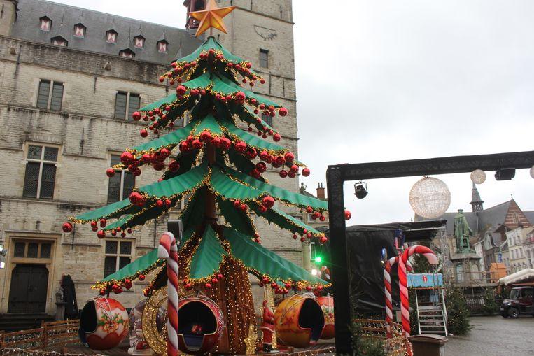 Het Kerstdorp in Aalst.