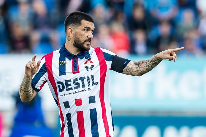 Dimitris Kolovos is terug in de wedstrijdselectie van Willem II.