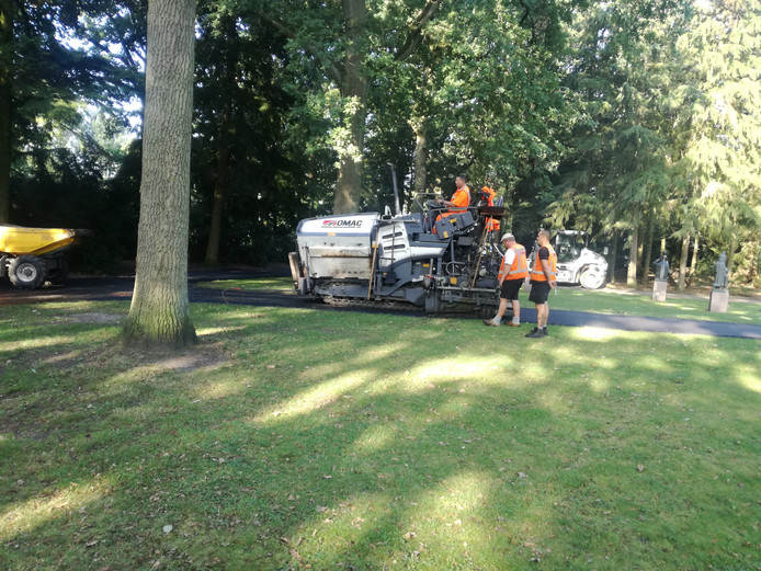 Onderhoud paden Stadswandelpark