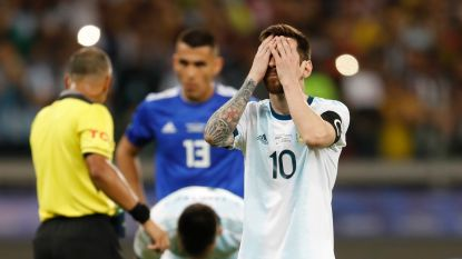 """De slechtste ploeg en de slechtste Messi ooit"": Argentijnse pers haalt zwaar uit na nieuw debacle"