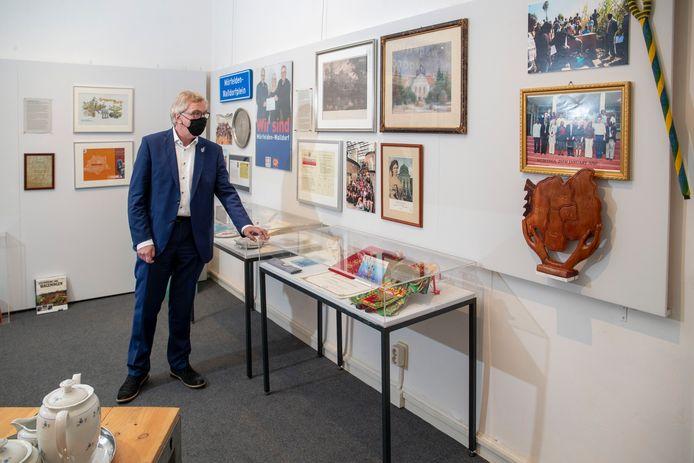 Burgemeester Geert van Rumund van Wageningen heeft hij een eigen expositie gekregen in Museum de Casteelse Poort.