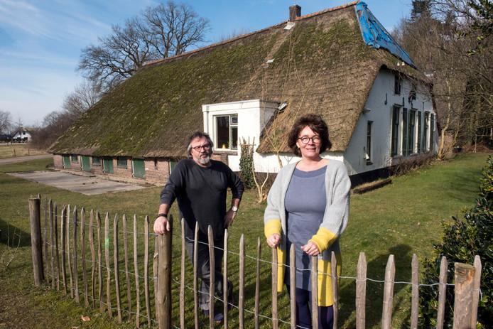 Natalie Overkamp en Gert Hofsink van Ermelo van Nu.