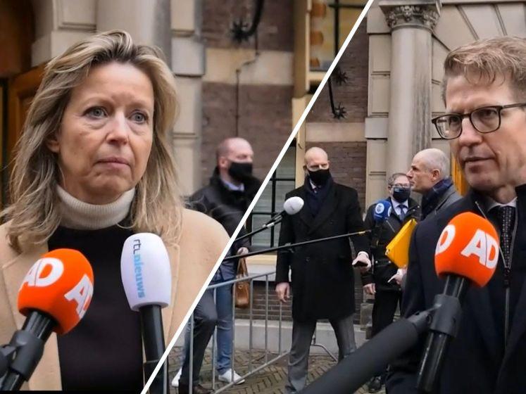 Dekker en Ollongren: 'Vallen kabinet was onvermijdelijk'