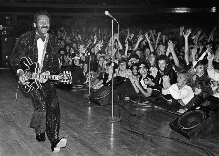 Chuck Berry Beeld Getty Images