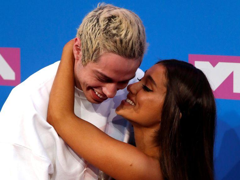 Pete Davidson en Ariana Grande
