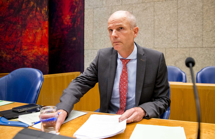 Minister Stef Blok van Buitenlandse Zaken in de Tweede Kamer.