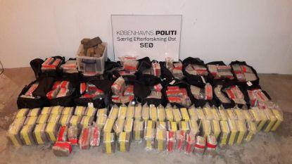 Deense politie ontdekt halve ton hasj, 7 mensen opgepakt