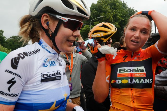 Anna Van der Breggen en Chantal Blaak.