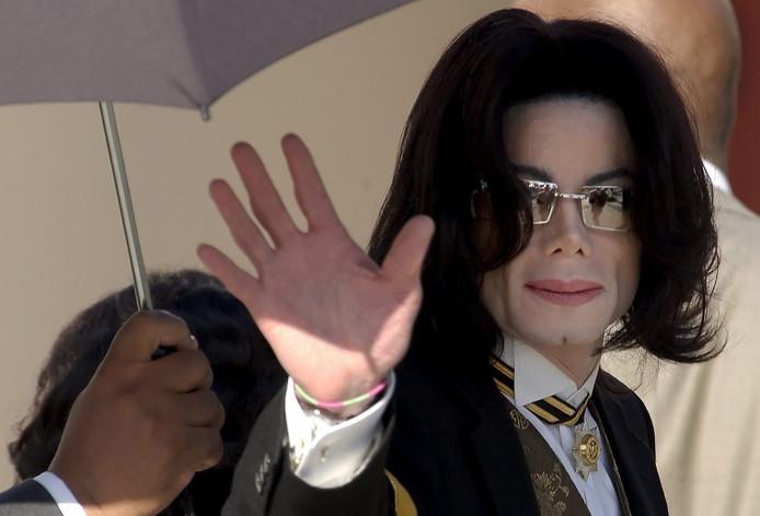 Michael Jackson, anno 2005. Toen had hij al talloze operaties aan zijn gezicht achter de rug. EPA/JOSHUA GATES WEISBERG