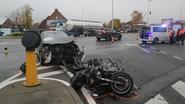 Motorrijder zwaargewond bij ongeval op R4
