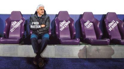 "Nieuwe Anderlecht-coach Rutten heeft liefst zes assistenten ter beschikking: ""Dat is simpelweg onwerkbaar"""