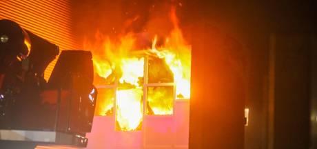 Forse brand bij autowasstraat in Helmond