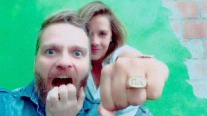 """Udo vroeg zijn Leen ten huwelijk: """"Heel spontaan, ik had zelfs geen ring"""""""