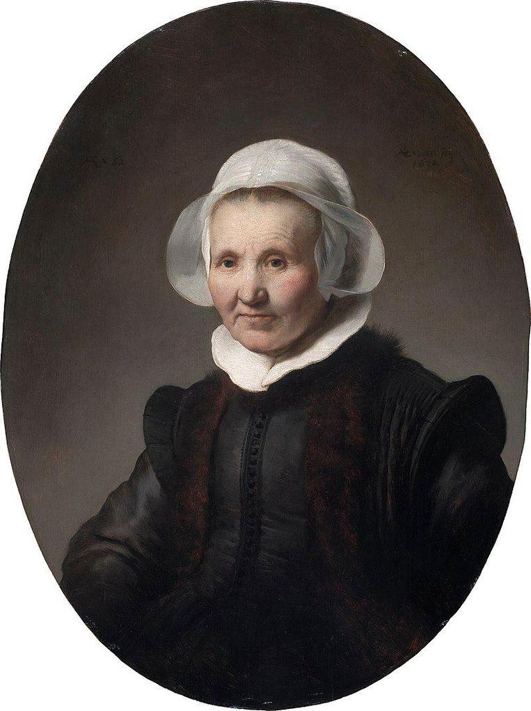 Rembrandt van Rijn, Portret van Aeltje Uylenburgh, 1632. Beeld