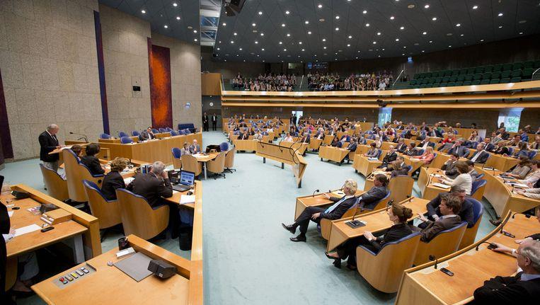 Twee Kamer in debat. Beeld null