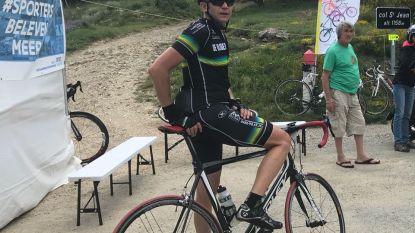 Jan fietst 700 km voor het goede doel