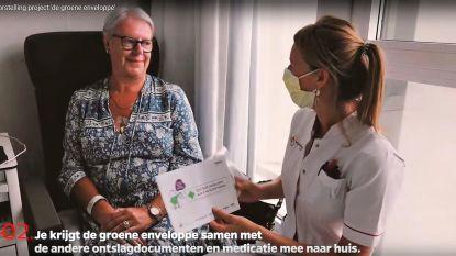 Enveloppe met informatie moet medicatieproblemen vermijden na ontslag uit AZ Groeninge