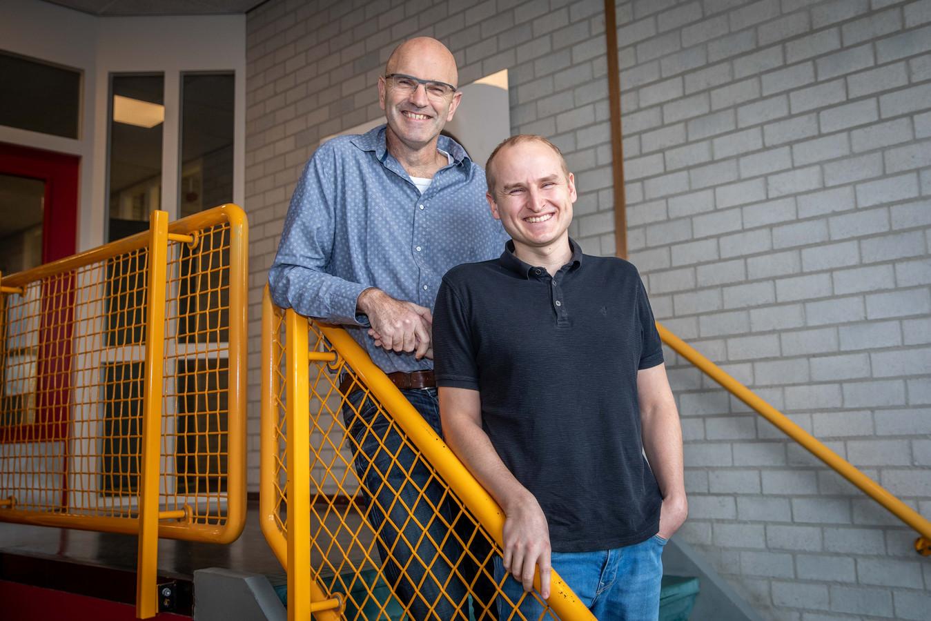 Marcel Janse (links) en Wouter Versluijs.